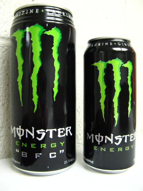 How Big Is A Tall Monster Energy Drink